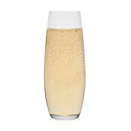 Libbey Glass Stemless Champagne Flutes (Set of 6)