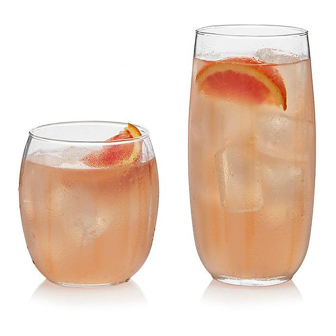 Alternate image 1 for Libbey® Samba 16-Piece Glass Drinkware Set