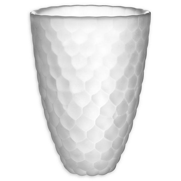 Alternate image 1 for Orrefors Raspberry Frost 6.3-Inch Vase