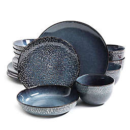 Gibson Elite® Matisse 16-Piece Dinnerware Set in Cobalt