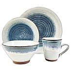 Sango® Talia 16-Piece Dinnerware Set in Blue