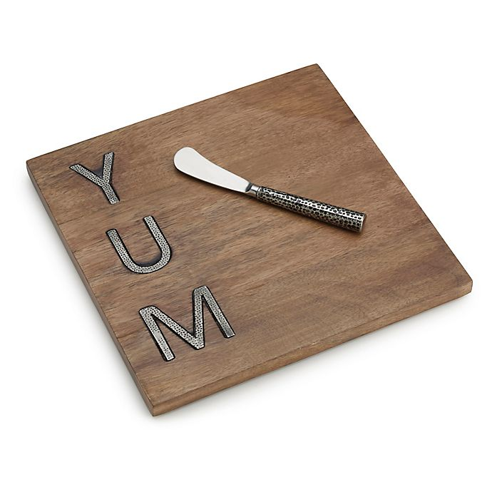 Alternate image 1 for Towle Living Yum Serving Board N' Spreader Set