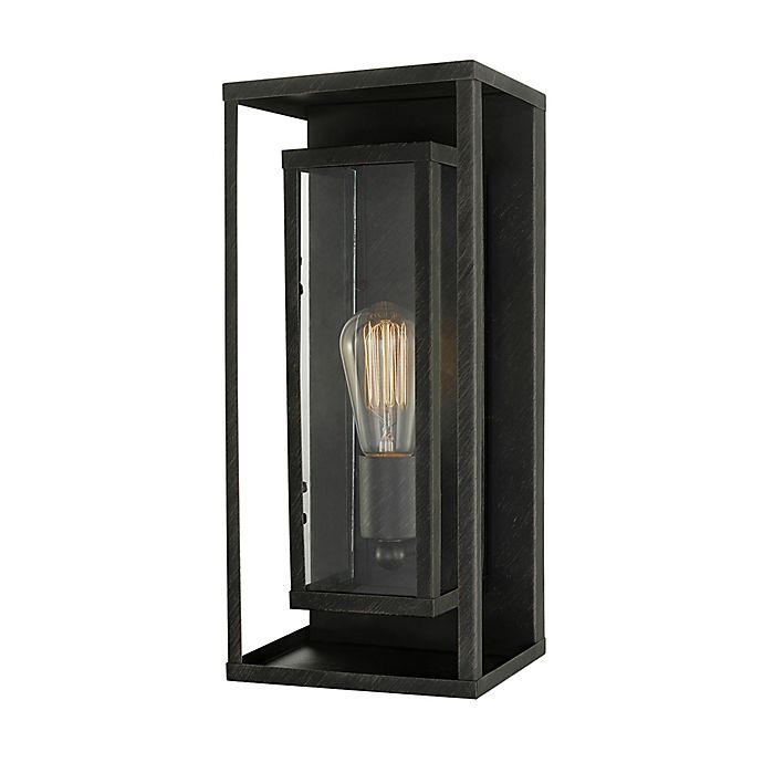 Alternate image 1 for Globe Electric Indoor/Outdoor Incandescent Outdoor Wall Sconce