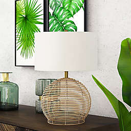 Hudson&Canal® Bryn Table Lamp in Brown