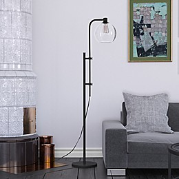 Hudson&canal Antho Floor Lamp in Black