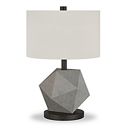 Hudson&canal Kore Table Lamp in Concrete