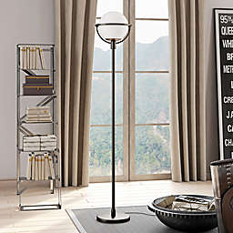 Hudson&canal Cieonna Floor Lamp in Black