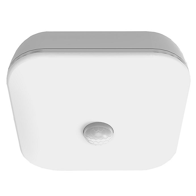 Alternate image 1 for Brilliant Evolution® Wireless Motion Activated LED Ceiling Mount Light in White