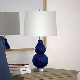 Hudson&canal Katrina Table Lamp in Blue