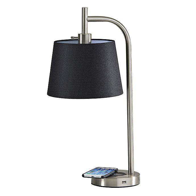 Alternate image 1 for Adesso Table Lamp in Black
