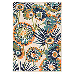 Jaipur Floral Indoor/Outdoor Area Rug