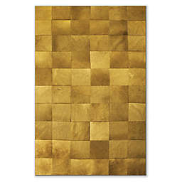 Natural Rugs Barcelona Cowhide Patches Area Rug