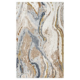 Rizzy Home Vogue Geological Rug in Beige