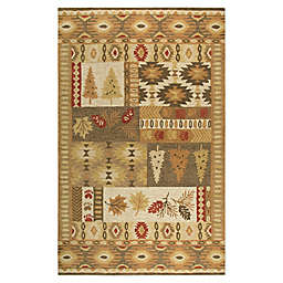 Rizzy Home Nature Patchwork Tufted Rug