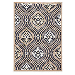 Jaipur Medallion Indoor/Outdoor Multicolor Rug
