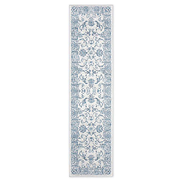 Alternate image 1 for Safavieh Brentwood Leyla 2' x 8' Runner in Light Grey