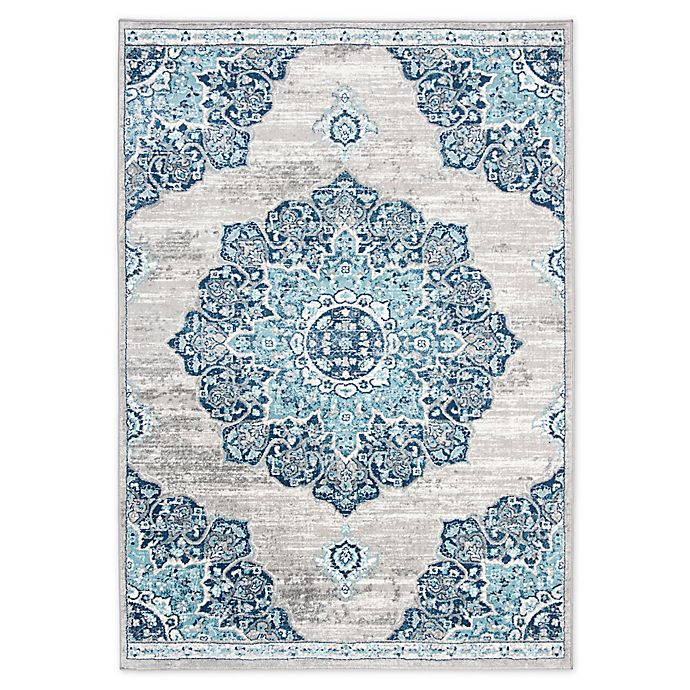 Alternate image 1 for Safavieh Brentwood Nima Area Rug in Navy