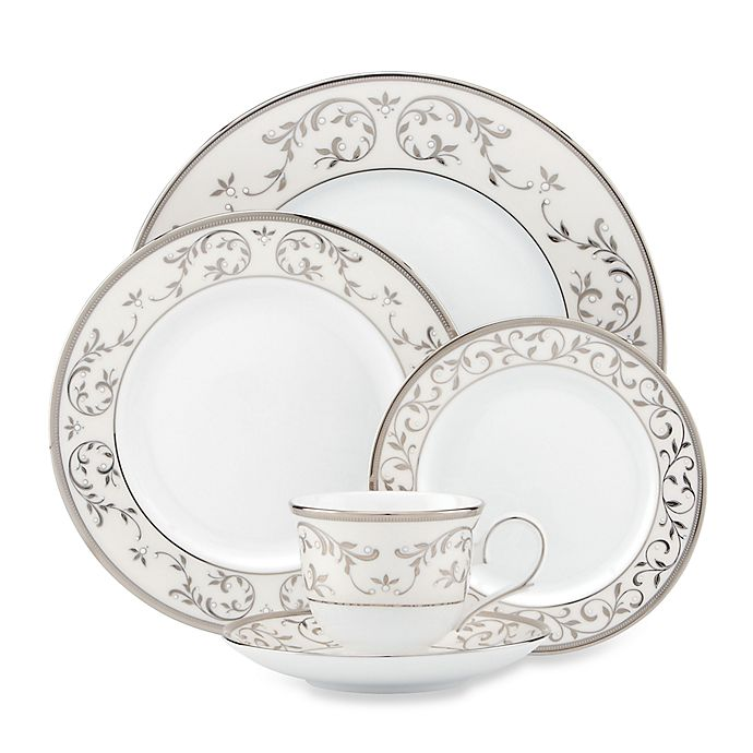 Alternate image 1 for Lenox® Opal Innocence™ Silver Dinnerware Collection
