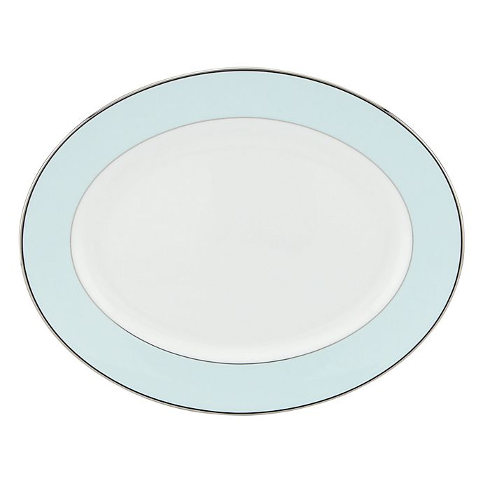 Alternate image 1 for kate spade new york Parker Place™ 13-Inch Oval Platter