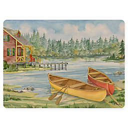 Lake Scene Placemat in Green