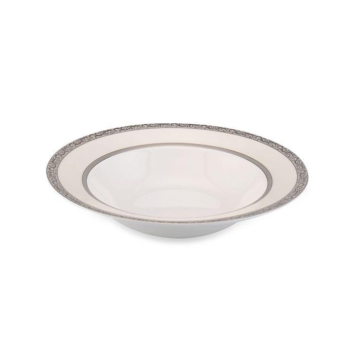 Alternate image 1 for Mikasa® Italian Countryside Platinum 10.67-Inch Vegetable Bowl