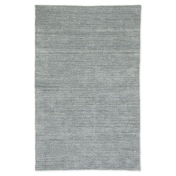 Alternate image 1 for Jaipur Geometric 7'10 x 10' Area Rug in Ivory/Dark Blue