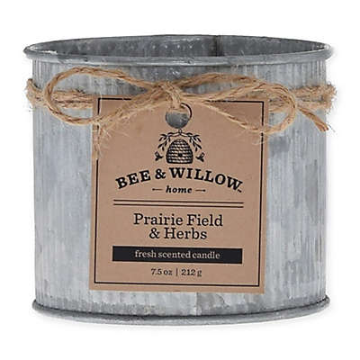 Bee & Willow™ Home Prairie Field & Herb 8 oz. Tin Candle