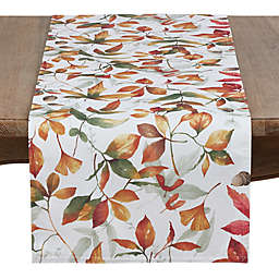 Saro Lifestyle Feuilles 72-Inch Table Runner