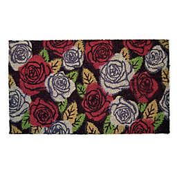 """Nature Mats by Geo 18"""" x 30"""" Garden Rose Multicolor All-Weather Door Mat"""