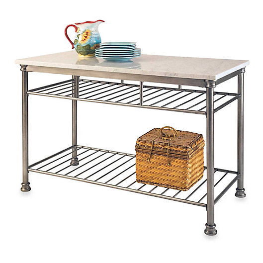 Alternate image 1 for Home Styles The Orleans Kitchen Island with Quartz Top