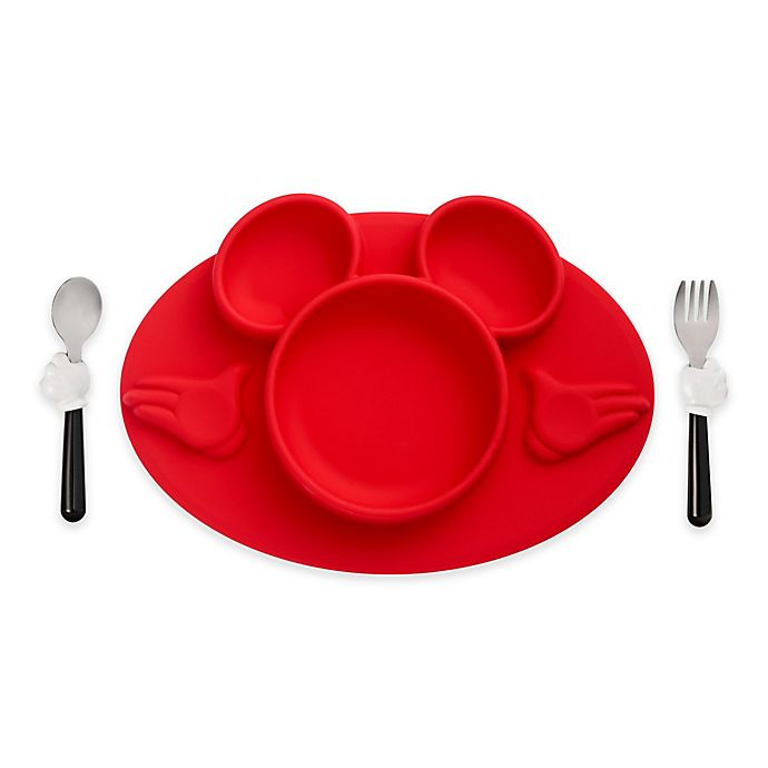 Alternate image 1 for The First Years™ 3-Piece Disney® Toddler Mealtime Set