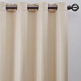 Bargello Grommet Room Darkening Window Curtain Panel
