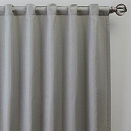 Bargello Rod Pocket/Back Tab Room Darkening Window Curtain Panel