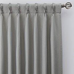Bargello Pinch Pleat Room Darkening Window Curtain Panel