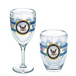 Tervis® 9 oz. United States Navy Camo Wine Glass Drinkware Collection