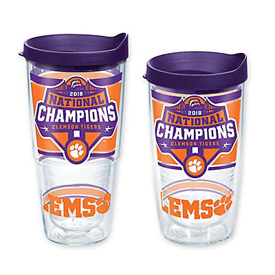Tervis® Clemson University 2019 National Football Champs Wrap Tumbler with Lid
