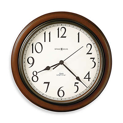 Howard Miller Talon Auto Daylight Wall Clock