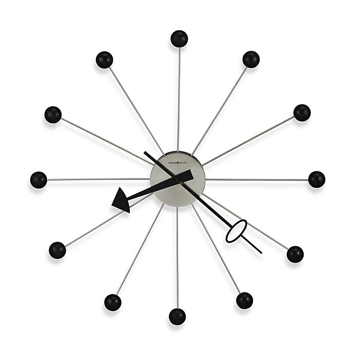 Alternate image 1 for Howard Miller Ball II Gallery 42-Inch Wall Clock