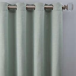 Basel 84-Inch Grommet Window Curtain Panel in Mint (Single)