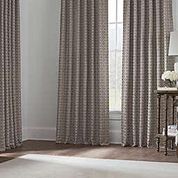 Boratta Geo Window Curtain Panels and Valance