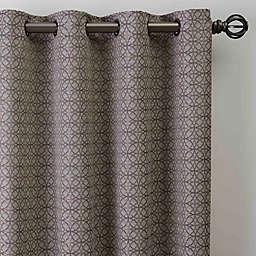 Boratta Geo Grommet Window Curtain Panel (Single)