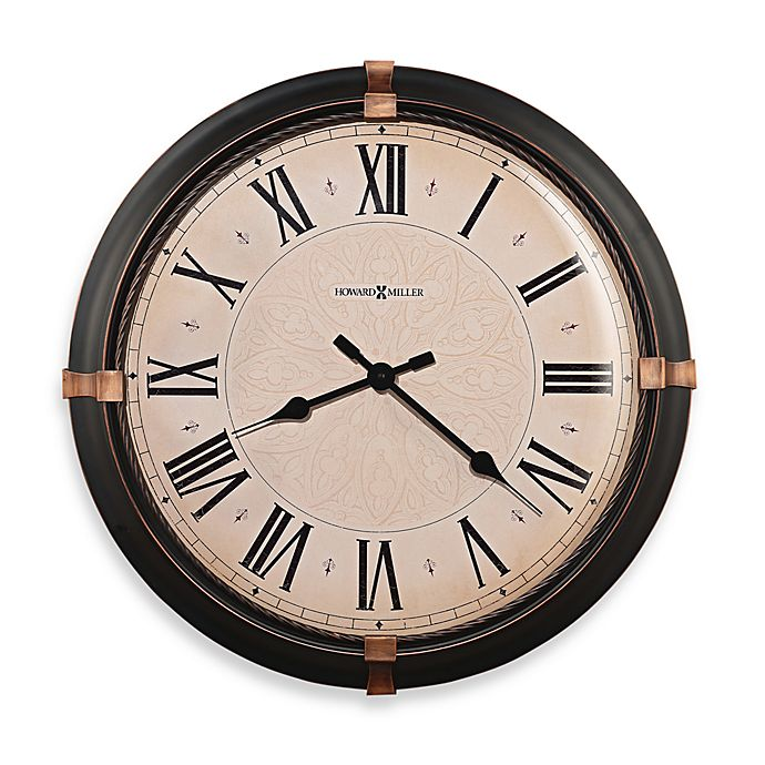 Alternate image 1 for Howard Miller Atwater Gallery 24-Inch Wall Clock