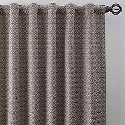 Boratta Geo Rod Pocket/Back Tab Window Curtain Panel (Single)