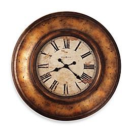 Howard Miller Copper Bay Gallery 29 1/2-Inch Wall Clock