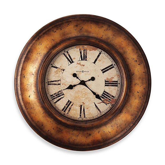 Alternate image 1 for Howard Miller Copper Bay Gallery 29 1/2-Inch Wall Clock
