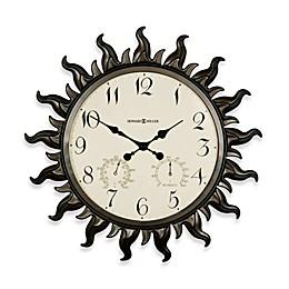 Howard Miller Sunburst Indoor/Outdoor Clock