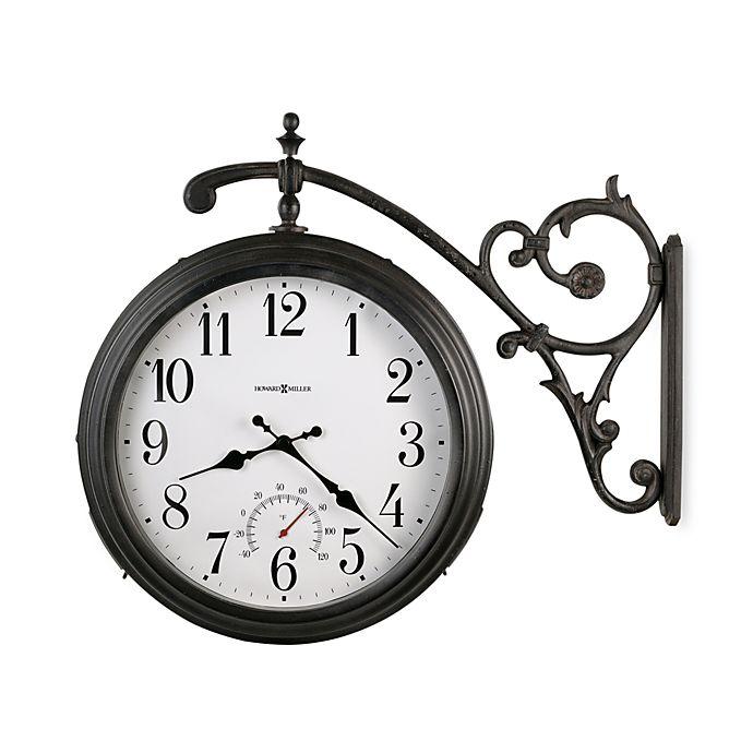 Alternate image 1 for Howard Miller Luis Indoor/Outdoor Clock