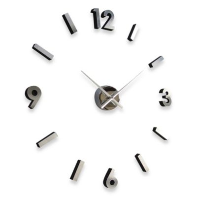 Cupecoy Design Do It Yourself Metal Wall Clock Bed Bath