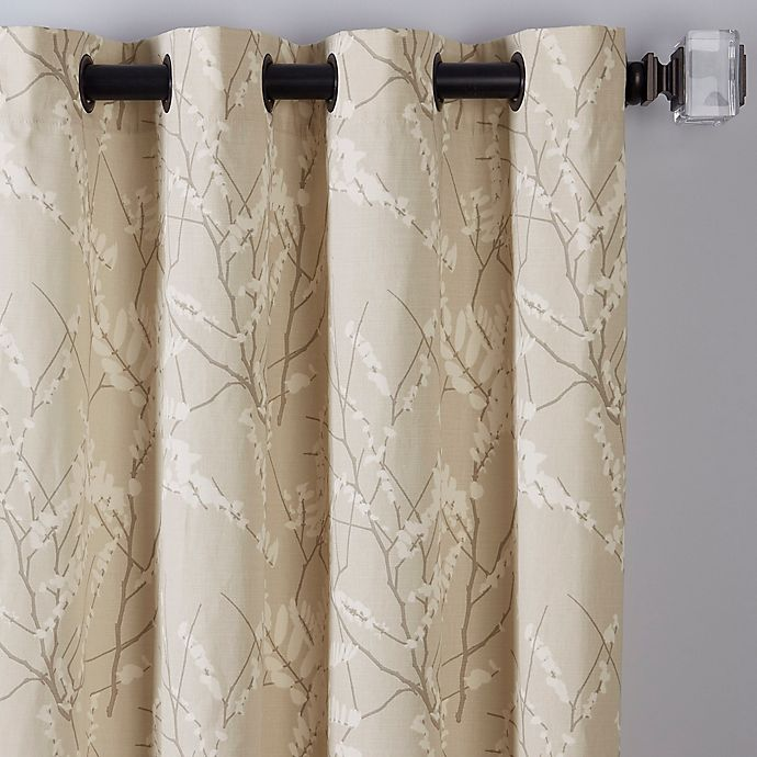 Alternate image 1 for Catkin 84-Inch Grommet Window Curtain Panel in Natural