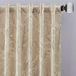 Catkin Rod Pocket/Back Tab Window Curtain Panel (Single)